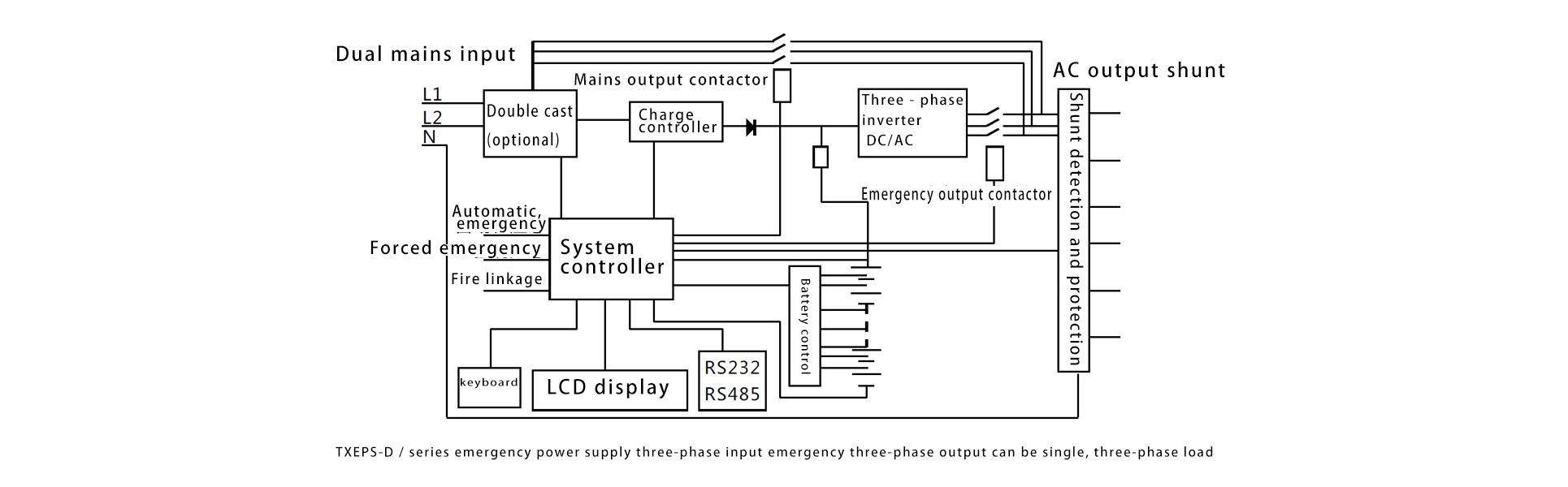 Schema Elettrico Trifase : Sistemi di alimentazione di emergenza e alimentazione di emergenza